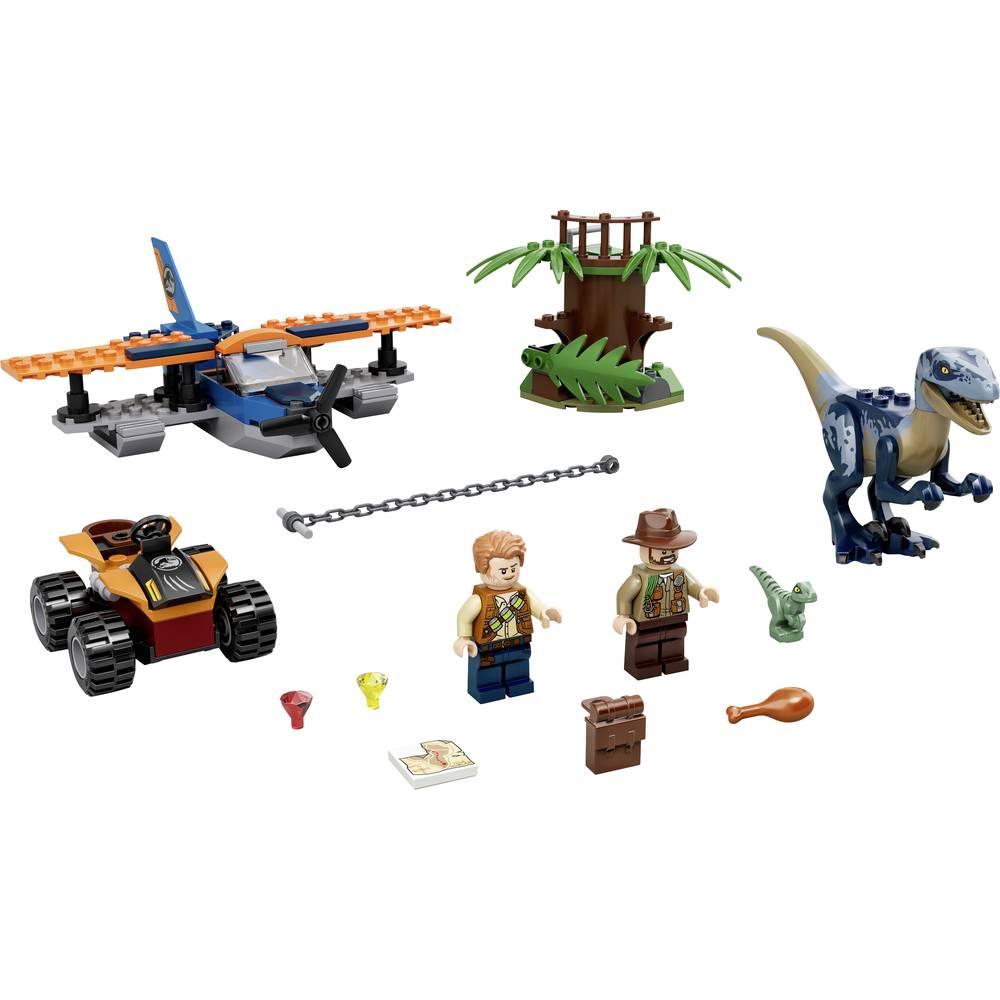75942 LEGO® JURASSIC WORLD™ VelociRaptor: Mise pro záchranu s dvojitým palubníkem