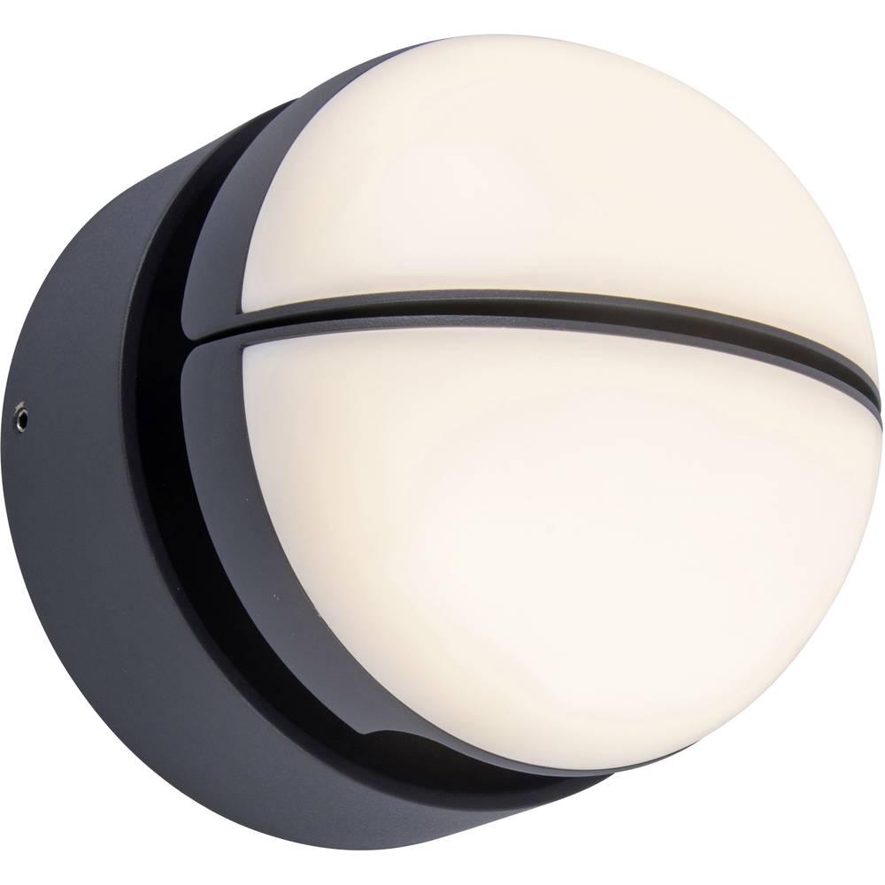 Lutec Eklips 5199001118 venkovní nástěnné LED osvětlení 13 W antracitová