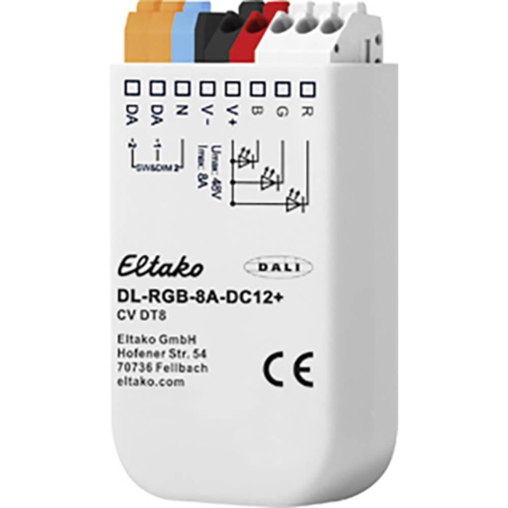 DL-RGB-8A-DC12+ Eltako LED stmívač vestavné, pod omítku