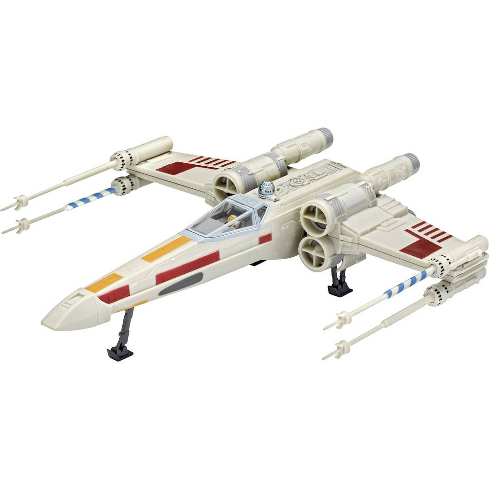 Revell 66779 Star Wars X-wing Fighter sci-fi model, stavebnice 1:57