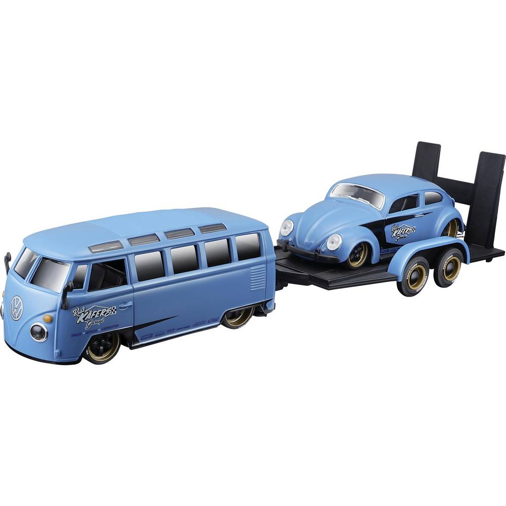 Maisto Design Elite Transporter VW Van & Beetle 1:24 model auta