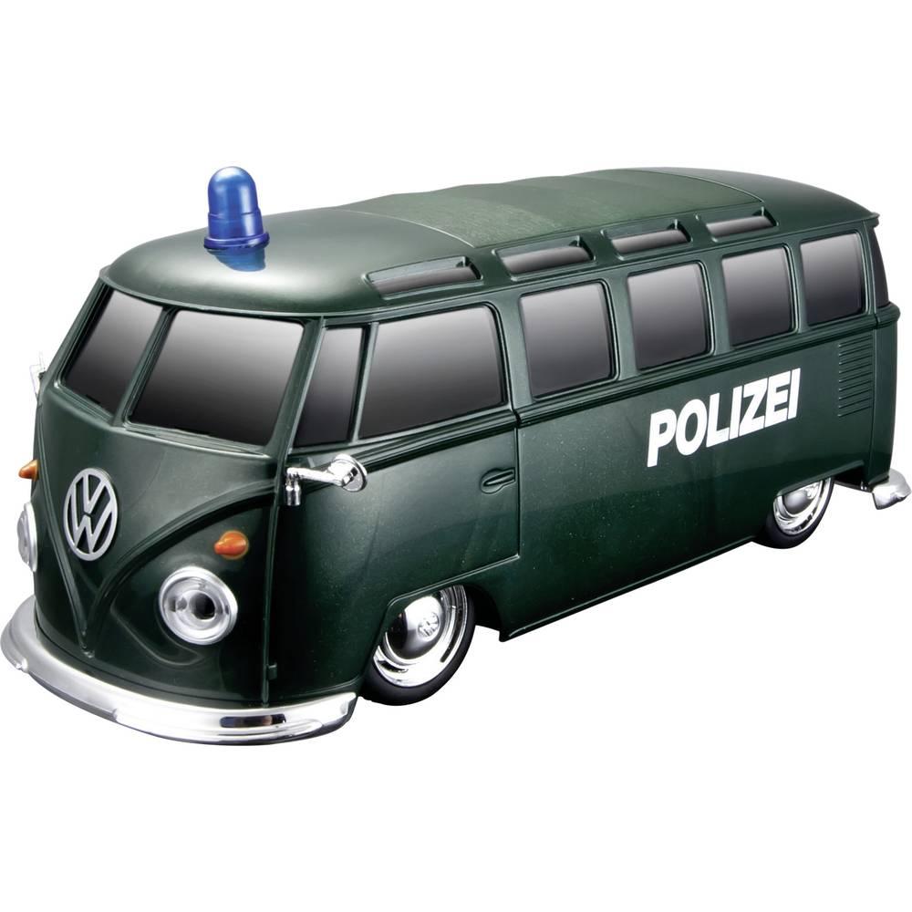 MaistoTech 82091P VW Bus Polizei 1:24 RC model auta elektrický záchranný vůz zadní 2WD (4x2)