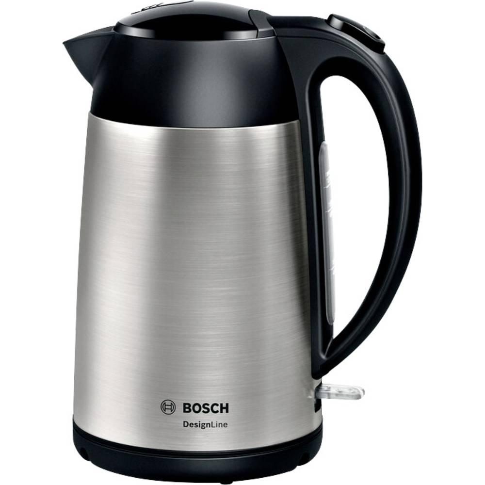 Bosch Haushalt TWK3P420 rychlovarná konvice bezšňůrová stříbrná