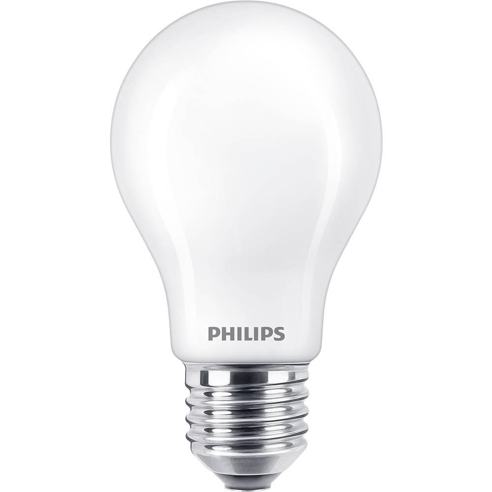 Philips Lighting 78007400 LED en.třída A+ (A++ - E) E27 tvar žárovky 5 W = 40 W teplá bílá (Ø x d) 6 cm x 10.6 cm stmívatelná 1 ks
