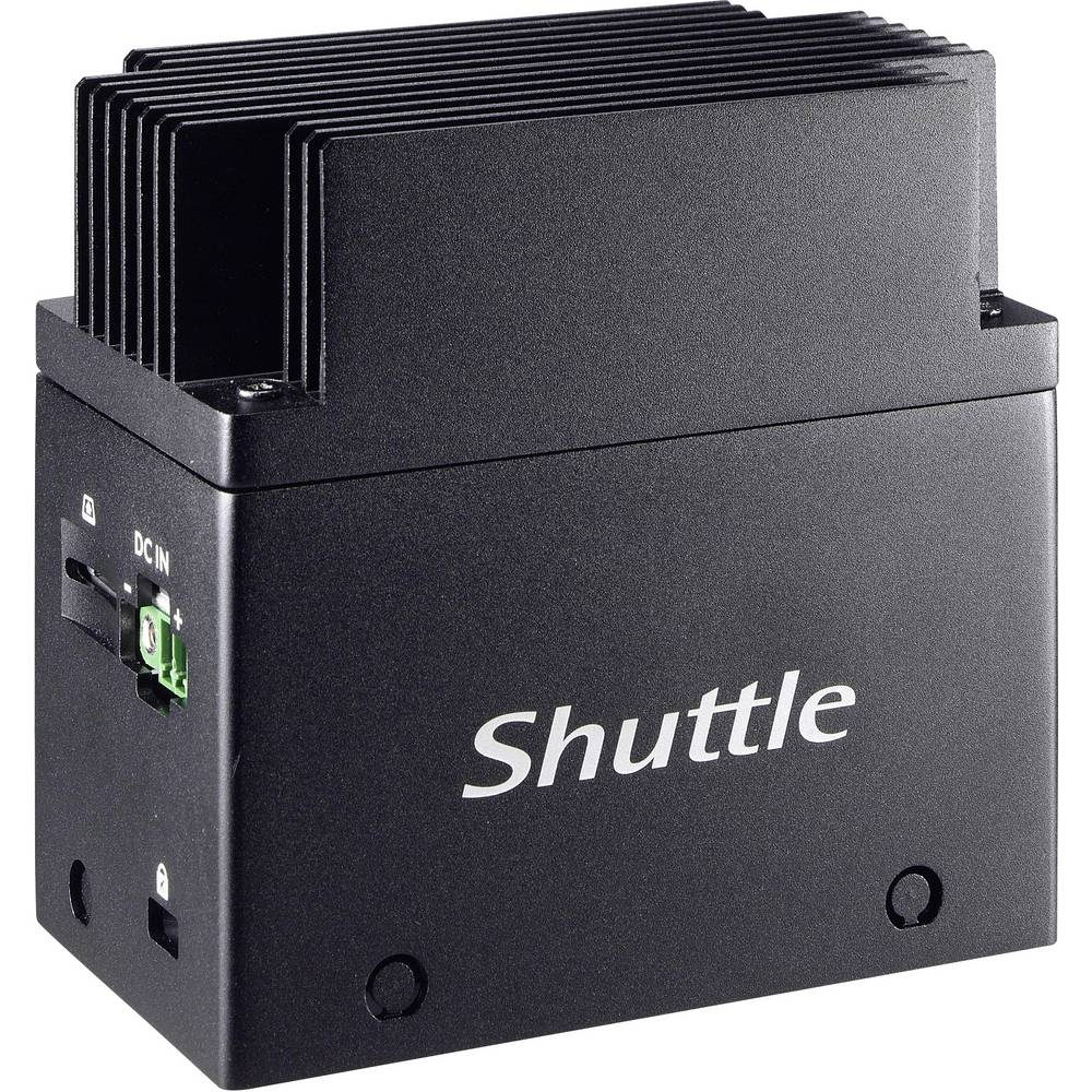Shuttle EN01J3 průmyslové PC Intel® Celeron® Celeron J3355 (2 x 2 GHz / max. 2.5 GHz) 4 GB 64 GB bez OS