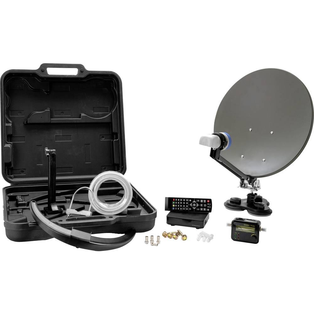 Xoro MC 38 HD kempingový satelit s přijímačem Počet účastníků: 1