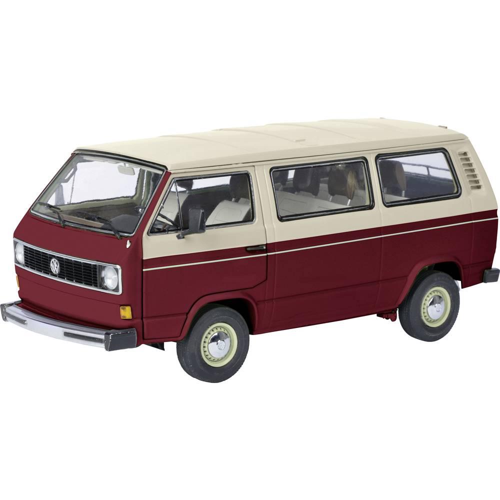 Schuco VW T3a Bus rot/weiß 1:18 model auta