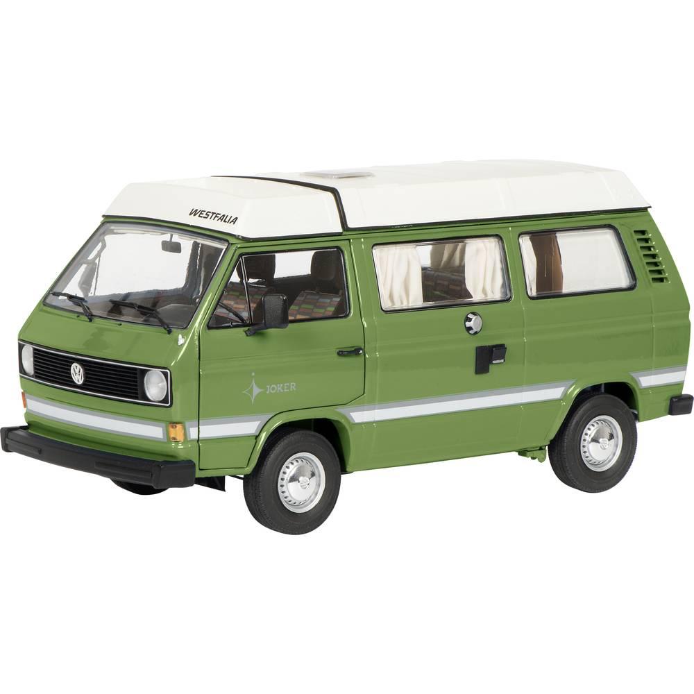 Schuco VW T3a Camper Joker grün 1:18 model auta