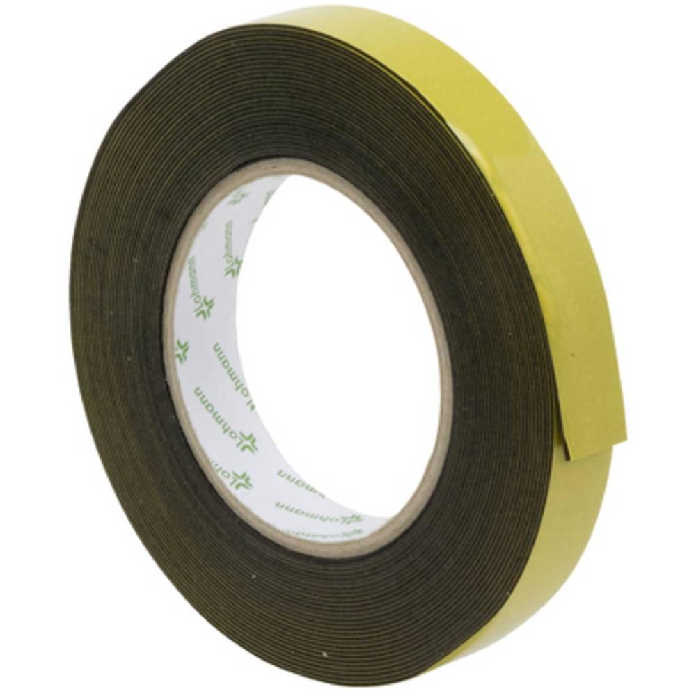 SWG 9850101975 oboustranná lepicí páska černá (d x š) 10 m x 19 mm 1 ks