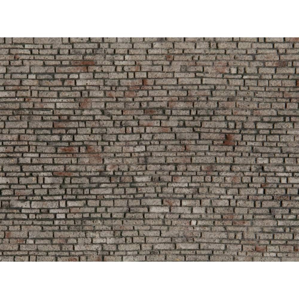 NOCH 0060370 H0 cihlová zeď sedimentační hornina
