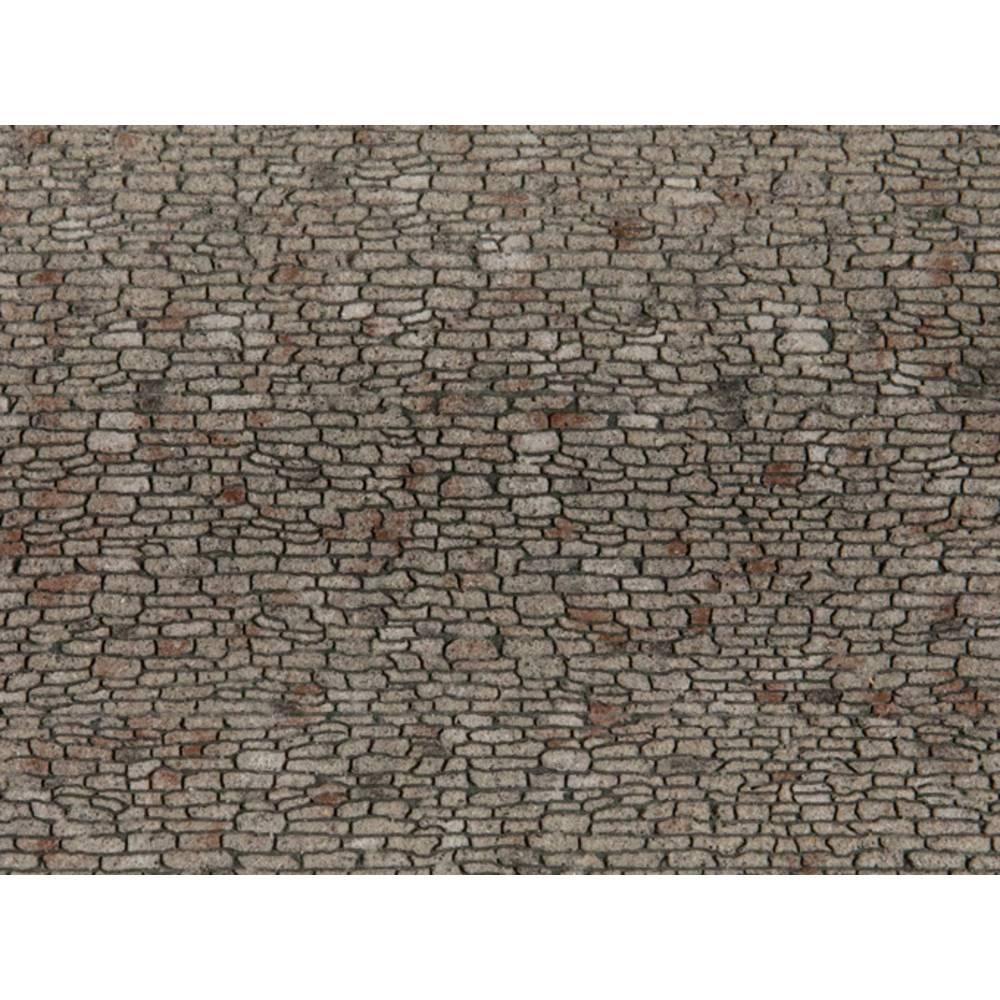 NOCH 0060371 H0 cihlová zeď lámaný kámen