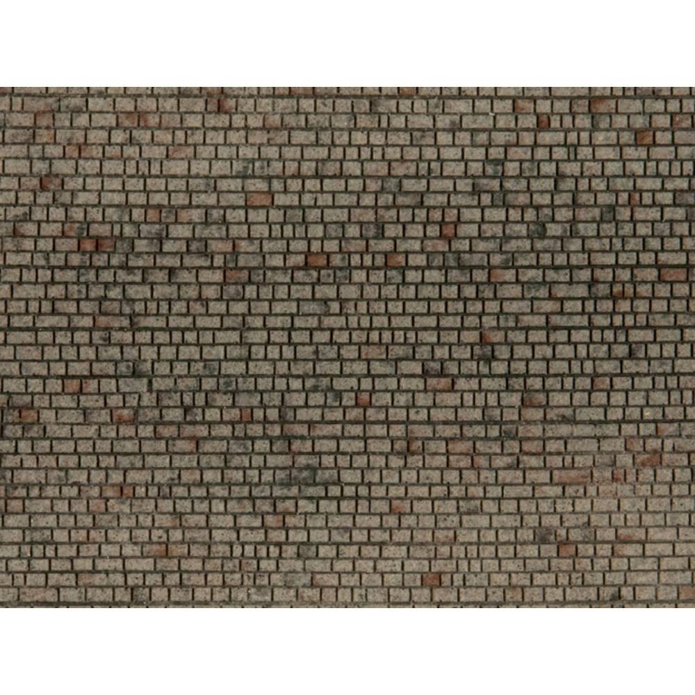 NOCH 0060372 H0 cihlová zeď otesaný balvan