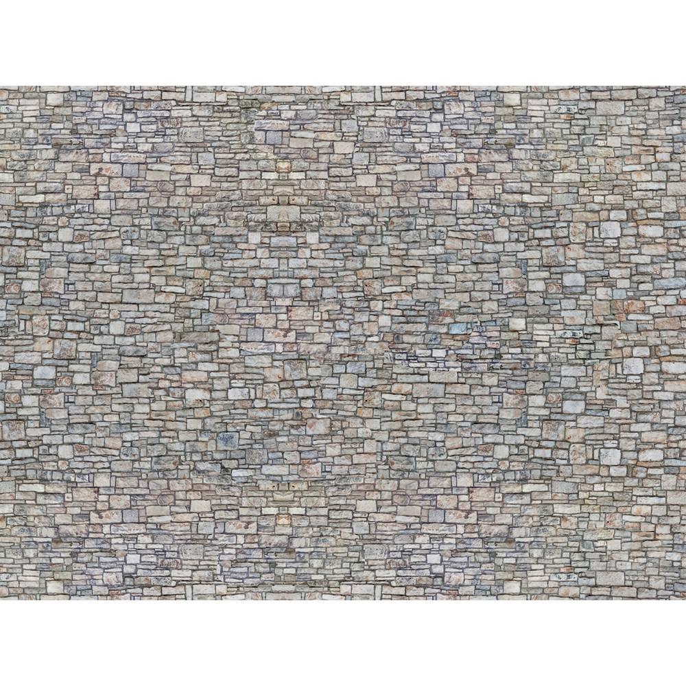 NOCH 0056940 N 3D kartonová deska zeď z lámaného kamene