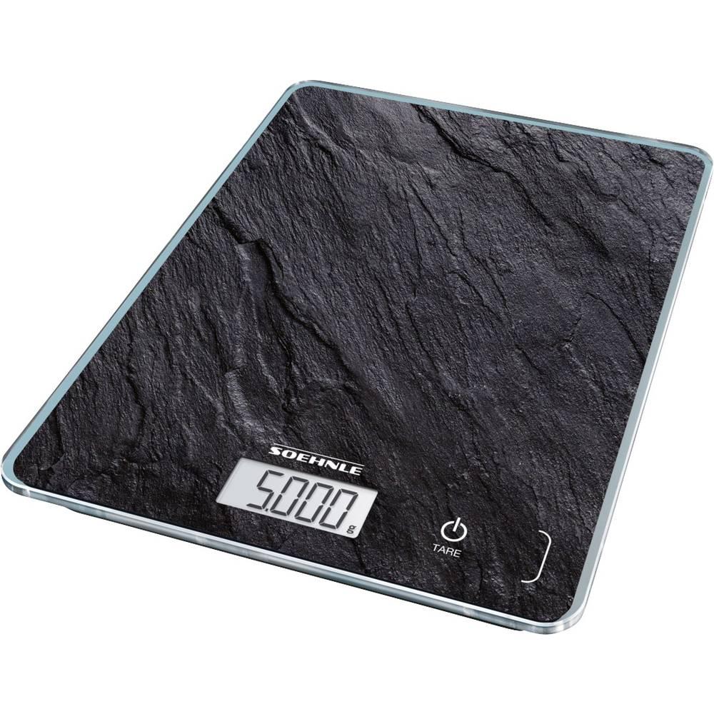 Soehnle Page Compact 300 Slate digitální kuchyňská váha digitální antracitová
