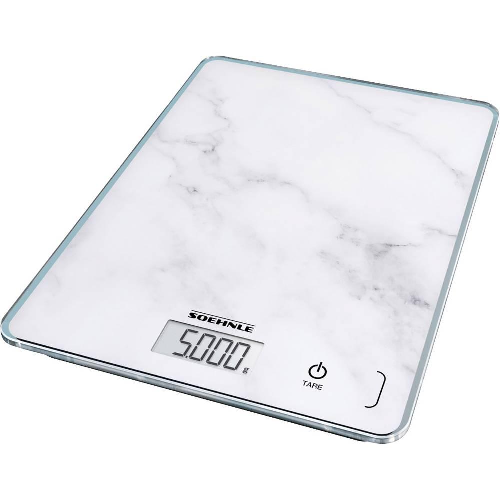 Soehnle Page Compact 300 Marble digitální kuchyňská váha digitální šedá
