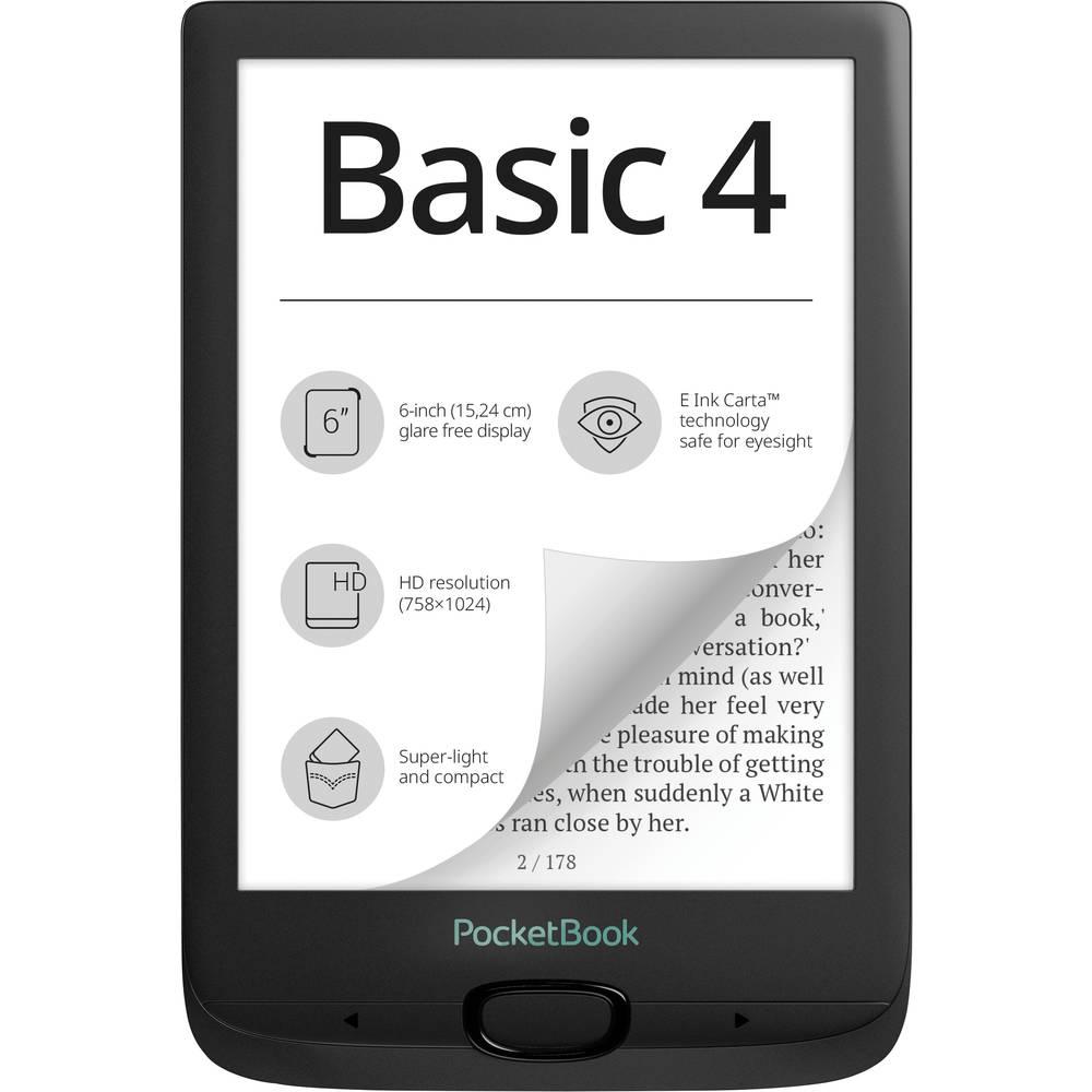 PocketBook Basic 4 Čtečka e-knih 15.2 cm (6 palec) černá