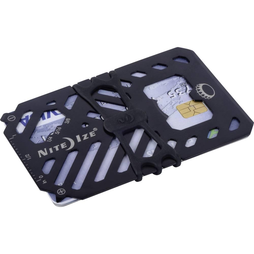 NITE Ize věšák na klíče NI-FMT2-01-R7 Financial Wallet černá 1 ks