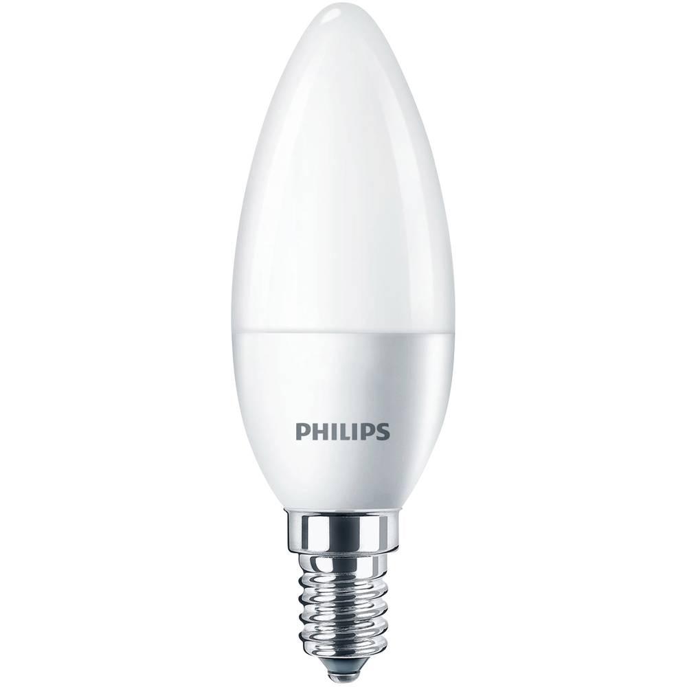 Philips Lighting 77431800 LED en.třída A+ (A++ - E) E14 5.5 W = 40 W teplá bílá (Ø x d) 35 mm x 35 mm 6 ks