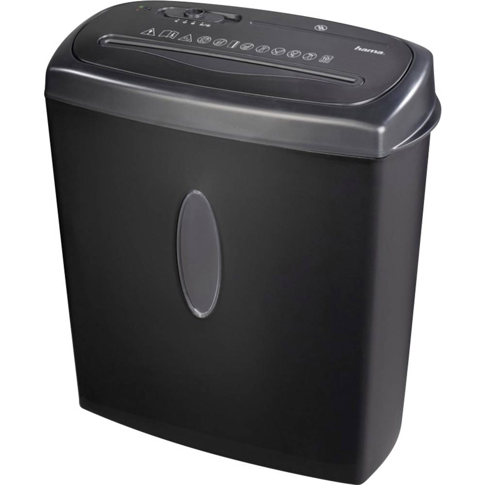 Hama Home X10CD skartovačka na proužky 4 x 40 mm 15 l Počet listů (max.): 11 Stupeň zabezpečení (skartovač) 2 Křížový řez CD, DVD, kreditní karty