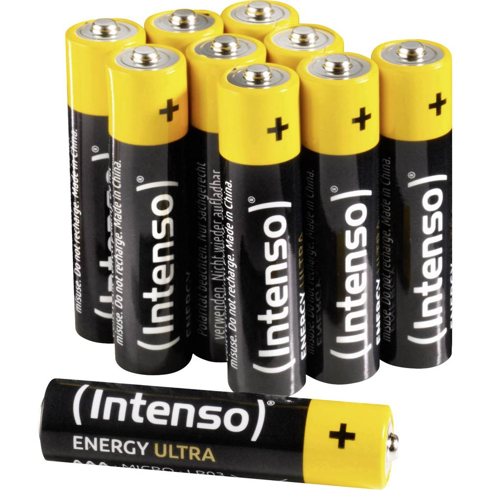 Intenso Energy-Ultra mikrotužková baterie AAA alkalicko-manganová 1.5 V 10 ks