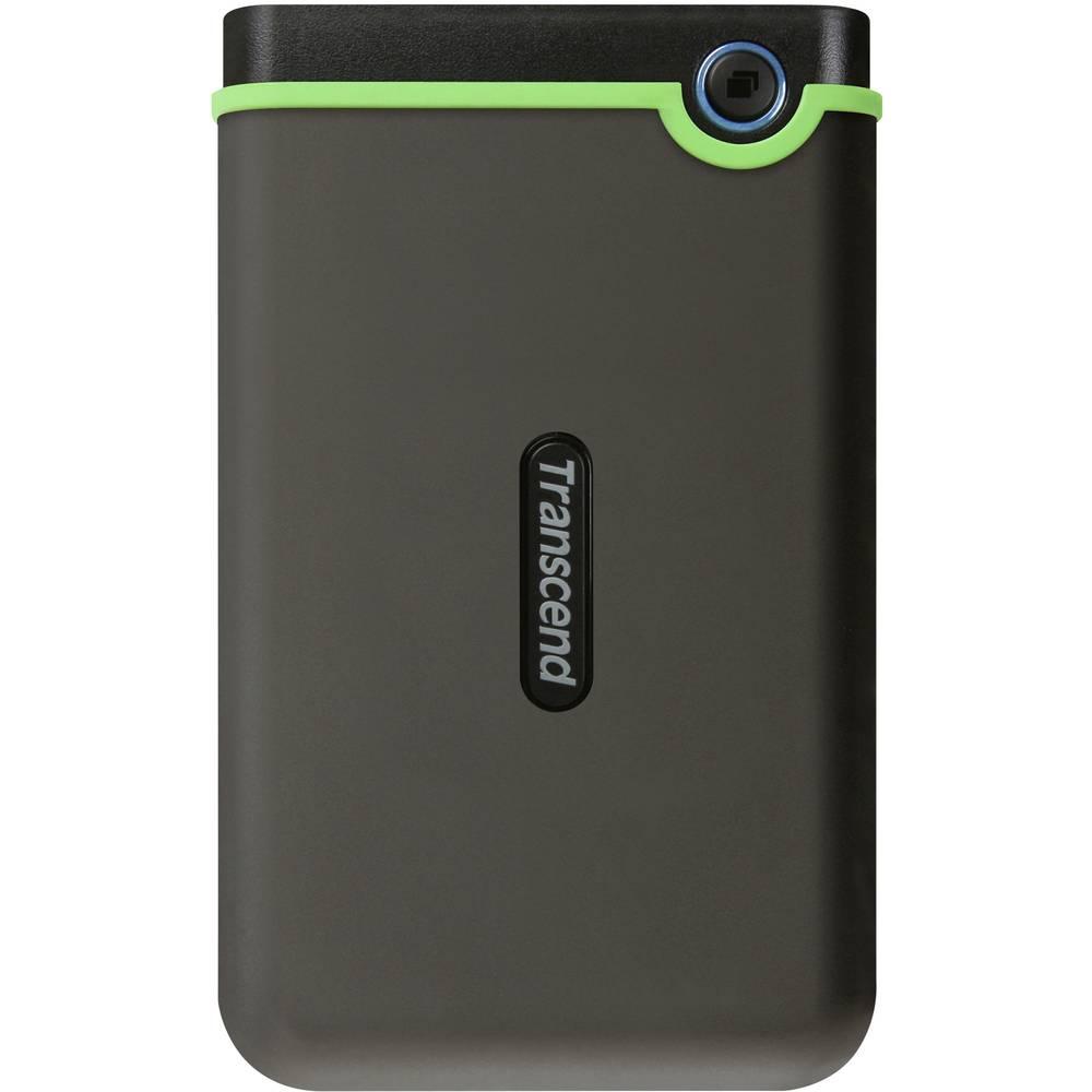 """Transcend StoreJet® 25M3 4 TB externí HDD 6,35 cm (2,5"""") USB Iron Gray, armádní zelená TS4TSJ25M3S"""