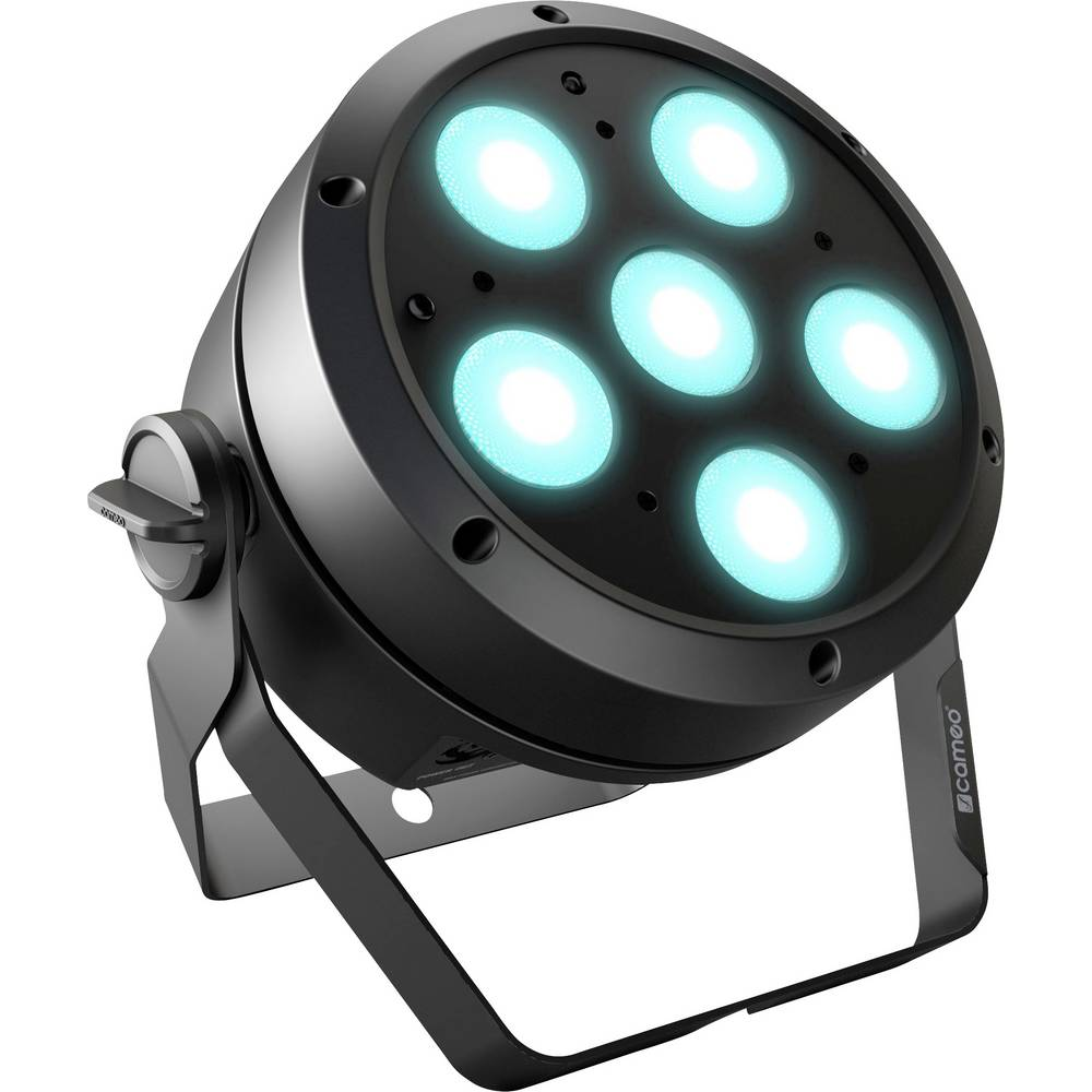 Cameo ROOT PAR 6 LED PAR reflektor Počet LED: 6 12 W černá