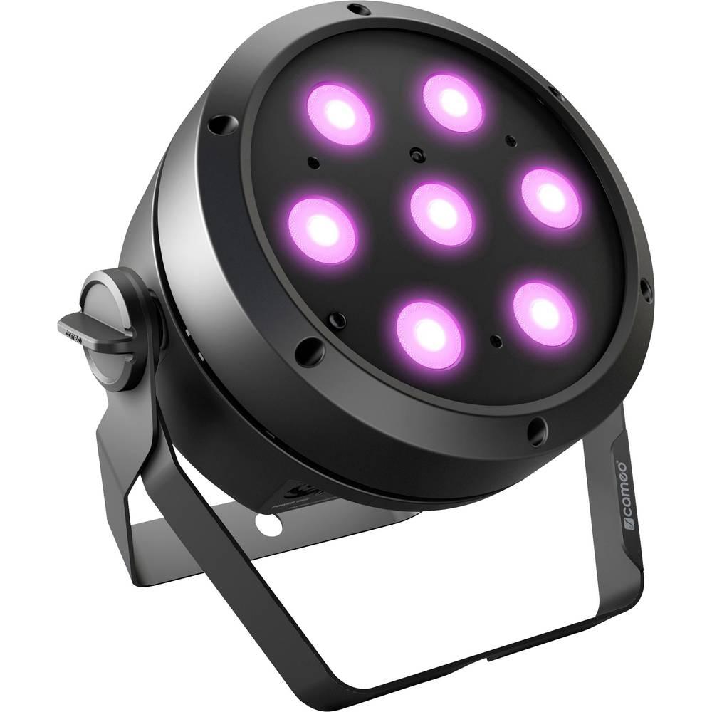 Cameo ROOT PAR 4 LED PAR reflektor Počet LED: 7 4 W černá