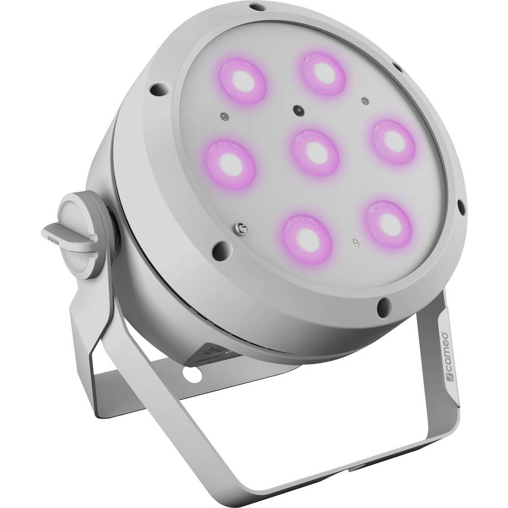 Cameo ROOT PAR 4 WH LED PAR reflektor Počet LED: 7 4 W bílá