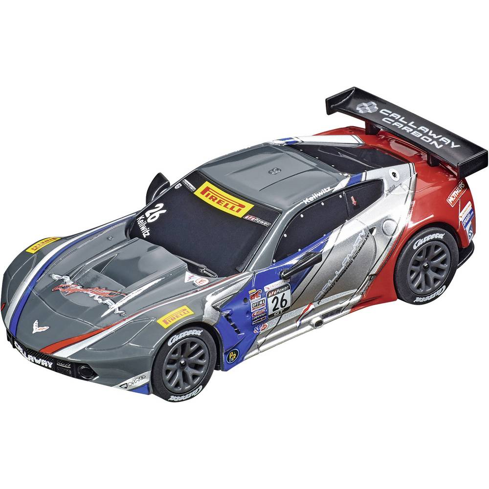 "Carrera 20064161 GO!!! Chevrolet Corvette C7.R GT3 ""Callaway Competition USA, No.26"