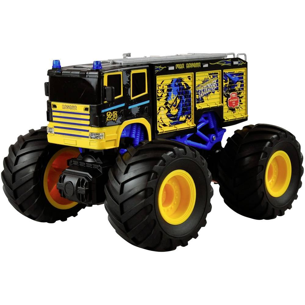 Amewi modrá komutátorový 1:18 RC model auta elektrický monster truck zadní 2WD (4x2) RtR 2,4 GHz