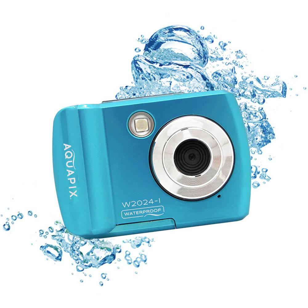 """Easypix W2024""""Splash"""" digitální fotoaparát 16 Megapixel modrá voděodolný"""