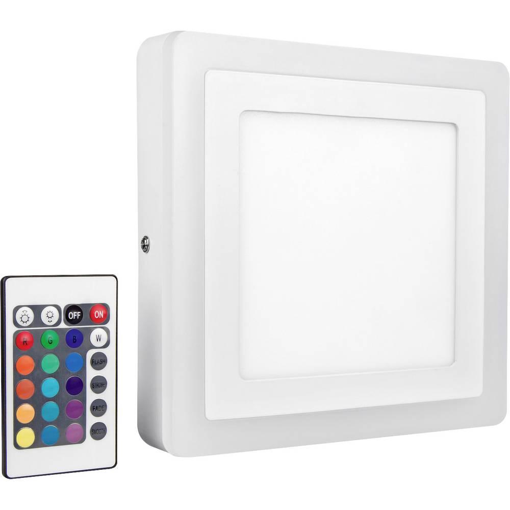 LEDVANCE LED COLOR WHITE SQ 200MM 19W LEDV 4058075227576 LED nástěnné světlo bílá 19 W RGBW