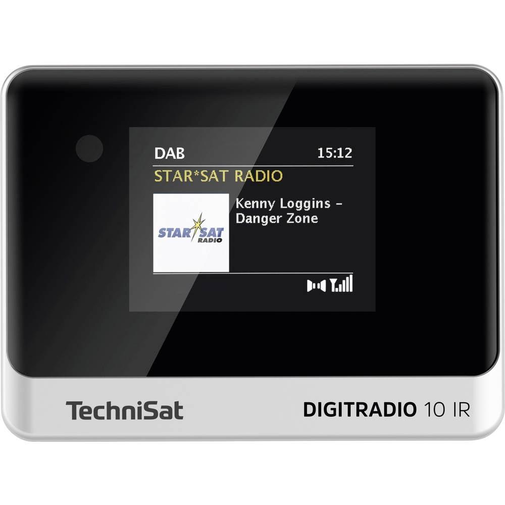 TechniSat DIGITRADIO 10 IR internetové stolní rádio internetové, DAB+, FM Bluetooth, DAB+, internetové rádio, FM, Wi-Fi vč. dálkového ovládání, Spotify černá/stříbrná