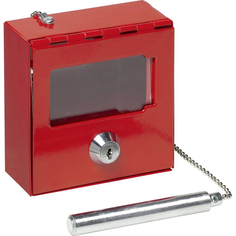 Basi nouzová schránka na klíče 2150-0003 červená