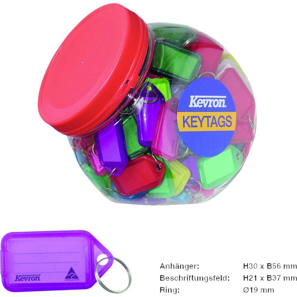Basi věšák na klíče 8530-9000 barevně tříděná 150 ks/bal. 1 sada