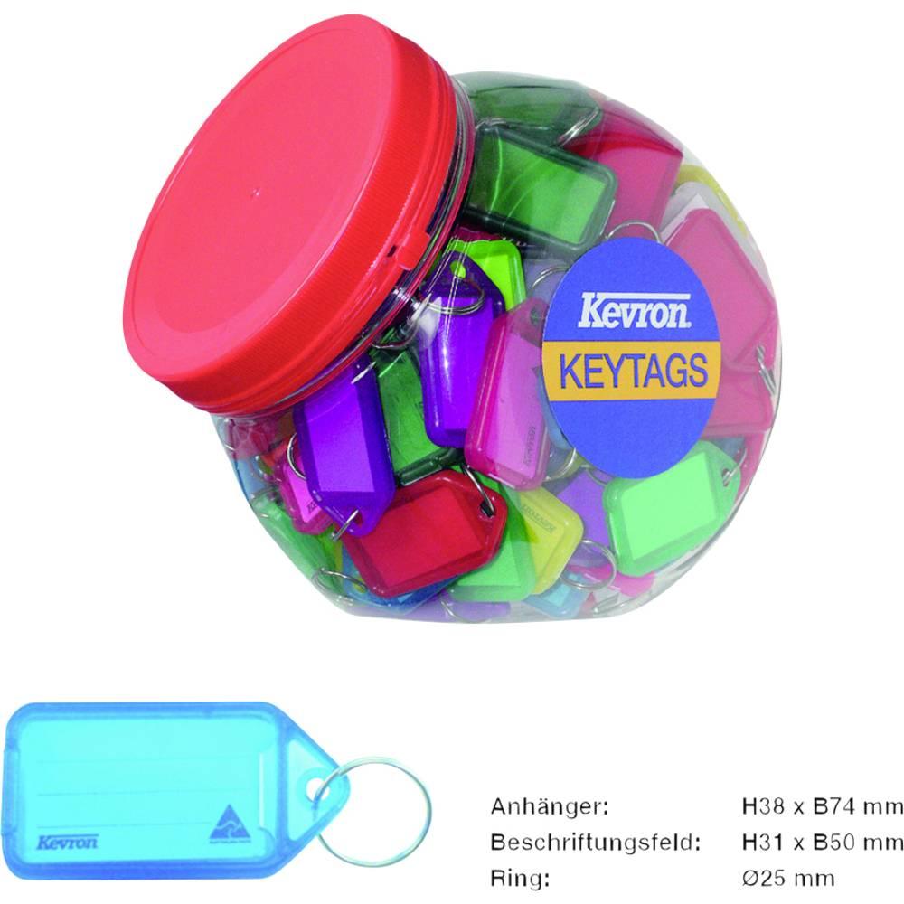 Basi věšák na klíče 8530-9010 barevně tříděná 70 ks/bal. 1 sada