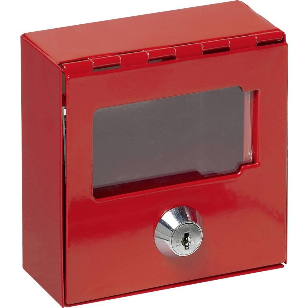 Basi nouzová schránka na klíče 2150-0002 červená