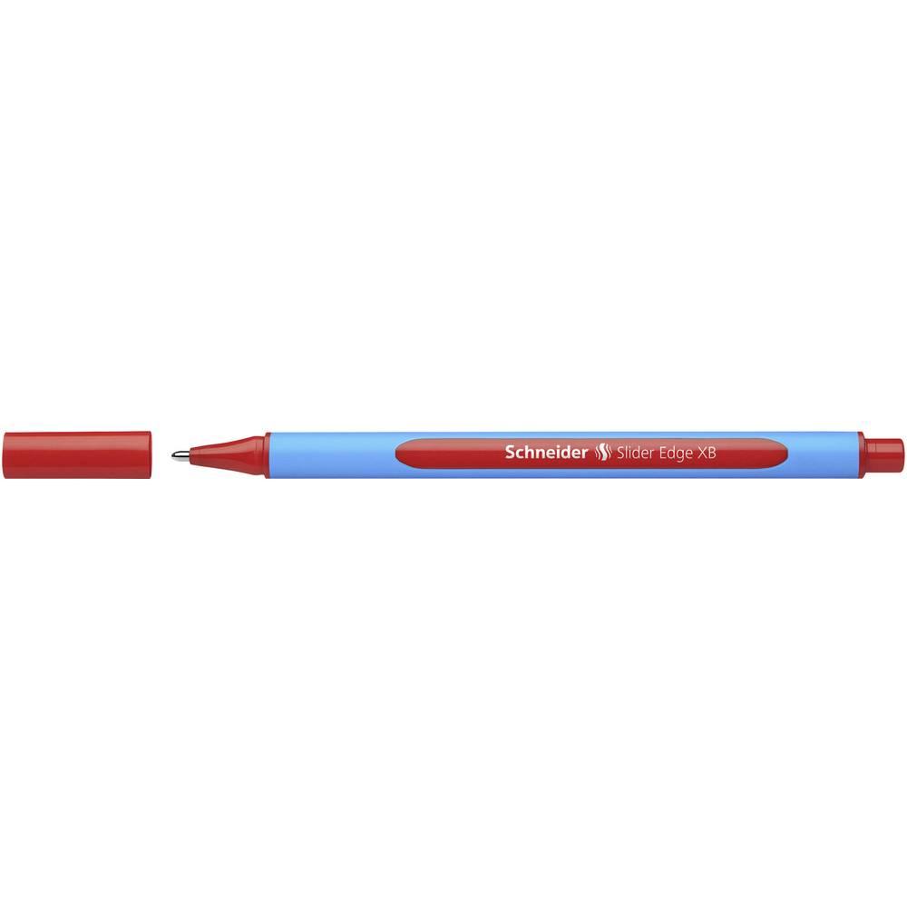 Schneider Slider EDGE XB 152202 kuličkové pero Barva písma: červená 1 ks