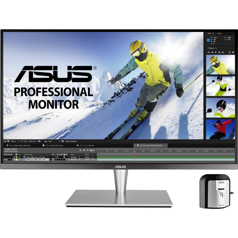 Asus PA32UC-K LED monitor 81.3 cm (32 palec) Energetická třída (EEK2021) C (A+++ - D) 3840 x 2160 Pixel UHD 5 ms USB 3.2 Gen 1 (USB 3.0), HDMI™, DisplayPort, USB-C™, na sluchátka (jack 3,5 mm) IPS LED