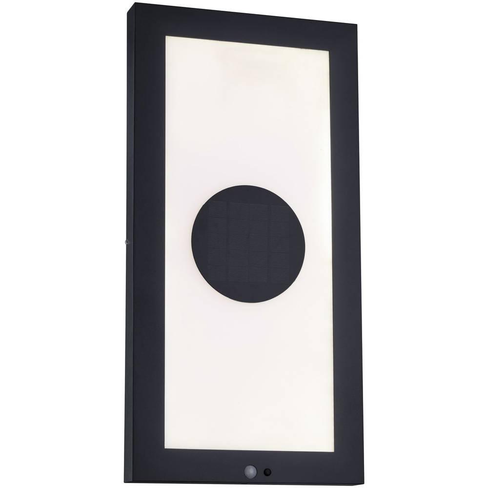 Paulmann 94311 solární nástěnná lampa teplá bílá antracitová