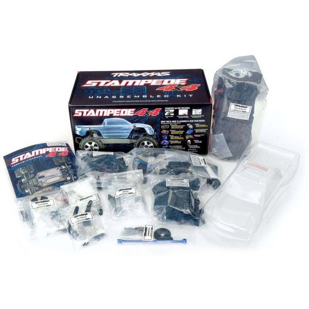 Traxxas Traxxas 67014-4 Stampede 4x4 Kit inkl. Fernsteuerung & Elektronik RC model auta