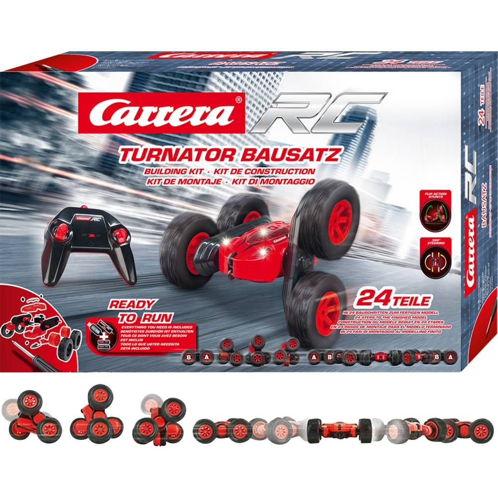 Carrera 370240010 Turnator Bausatz-Kit 1:24 RC model auta