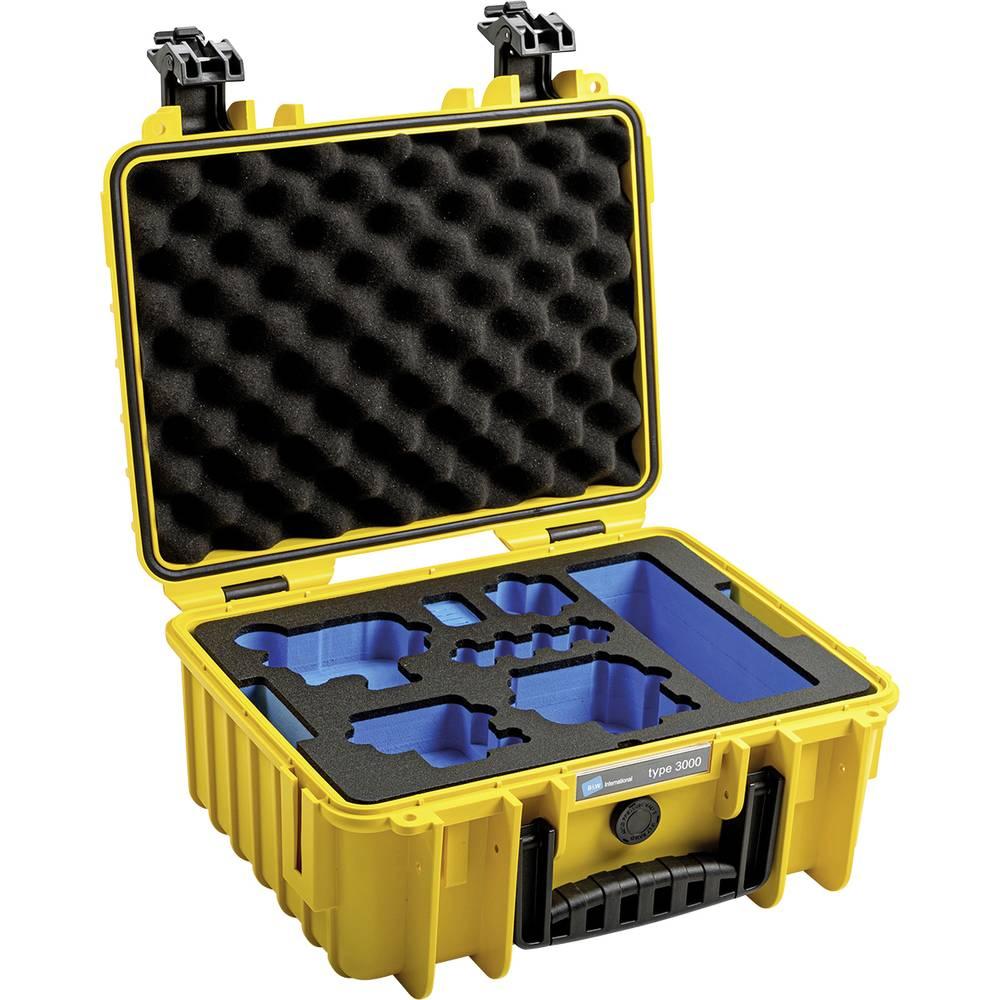 B & W outdoor.cases Typ 3000 kufřík na kameru Vnitřní rozměr (Š x V x H)=330 x 150 x 235 mm vodotěsné