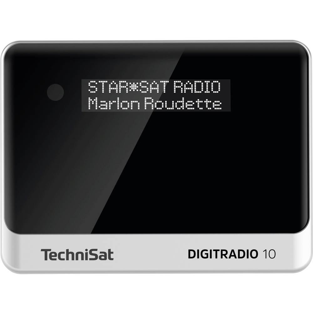 TechniSat DIGITRADIO 10 stolní rádio DAB+, FM Bluetooth, DAB+, FM vč. dálkového ovládání, funkce alarmu černá/stříbrná