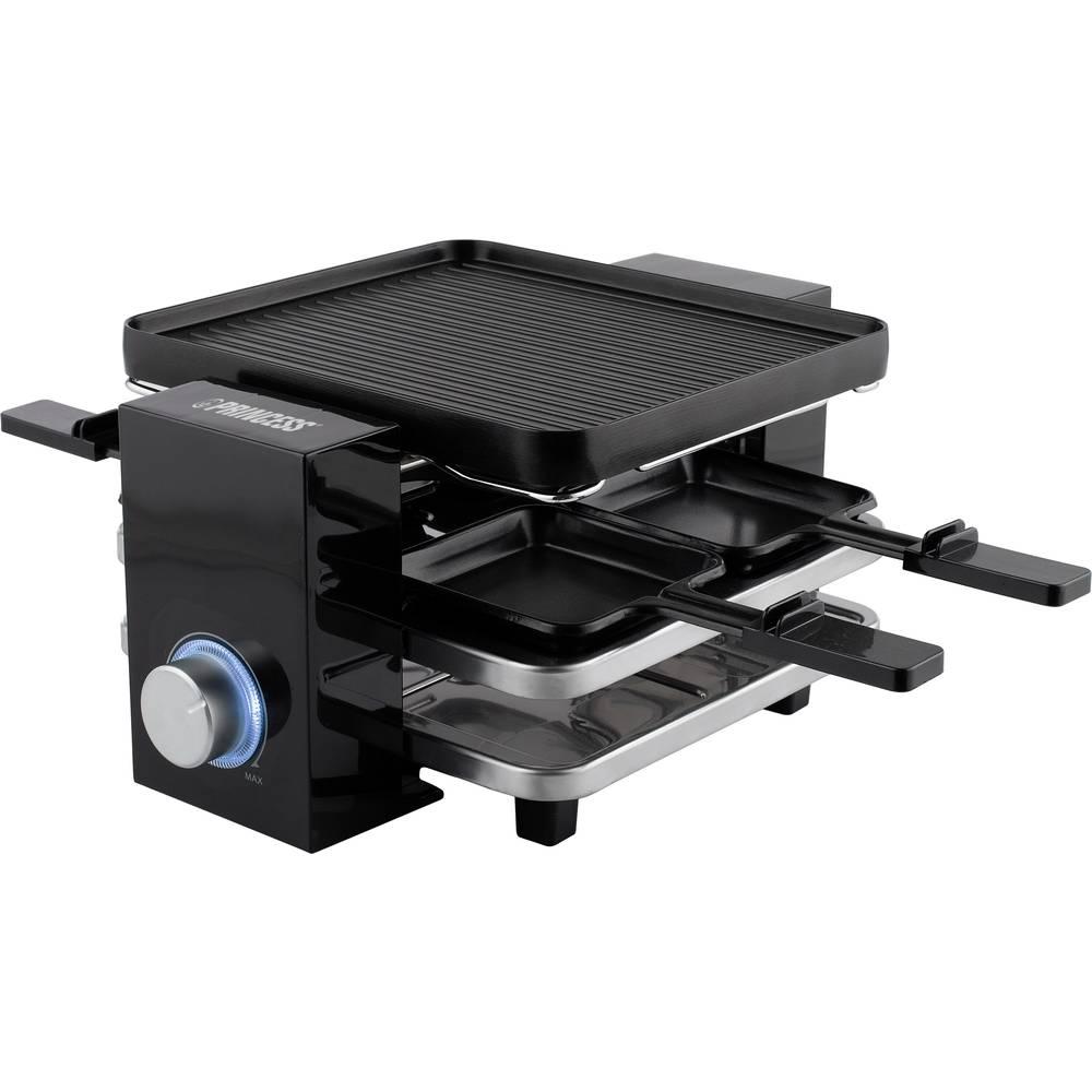 Princess 01.162915.01.001 raclette gril nepřilnavý povlak černá