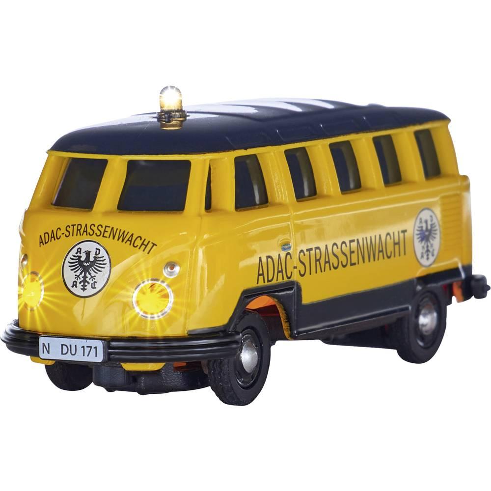 Carson Modellsport 504136 VW T1 Bus Samba ADAC 1:87 RC model auta elektrický #####Bus vč. akumulátorů, nabíječky a baterie ovladače