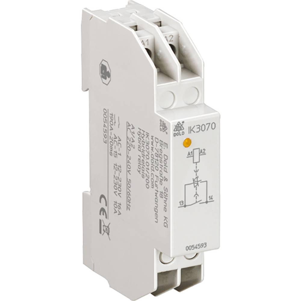 <br> Dold<br> IK3070.01/200 AC/DC24V Hybridní výkonové relé relé;Jmenovité napětí: 24 V;Spínací proud (max.): 10 A;1 spínací kontakt;1 ks