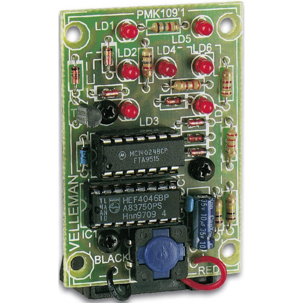 Whadda MK109 sada přerušovaného světelného signálu Provedení: stavebnice 9 V/DC