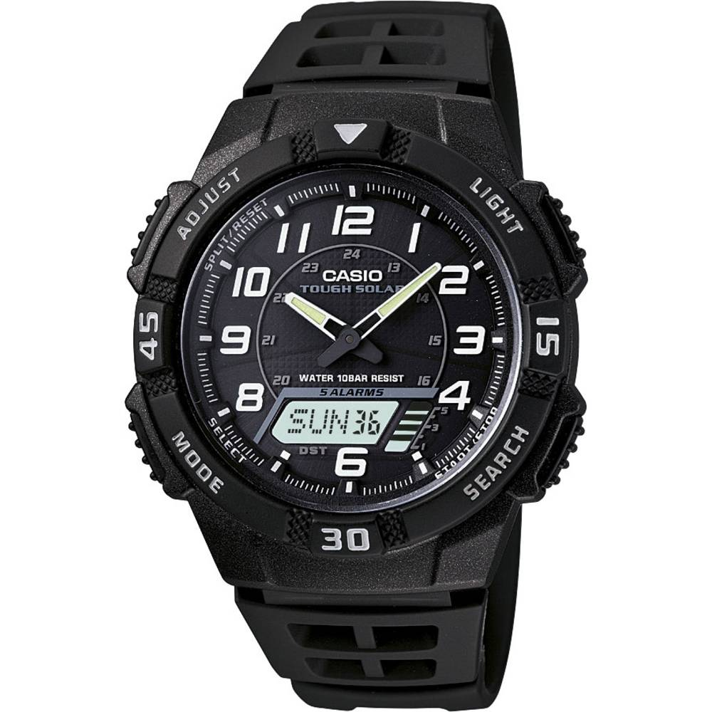 Casio náramkové hodinky AQ-S800W-1BVEF (š x v) 42 mm x 47.6 mm černá Materiál pouzdra=pryskyřice materiál řemínku=pryskyřice