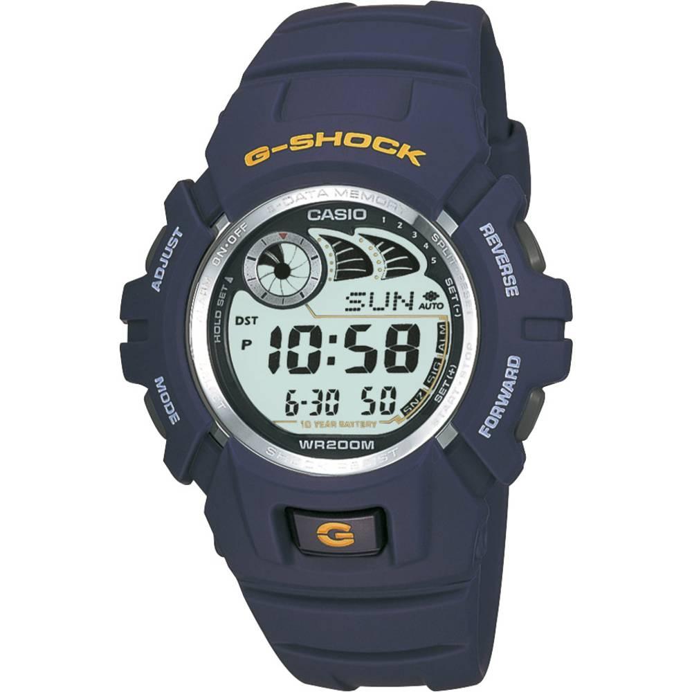 Casio náramkové hodinky G-2900F-2VER (š x v) 45.90 mm x 52.40 mm modrá Materiál pouzdra=pryskyřice materiál řemínku=pryskyřice